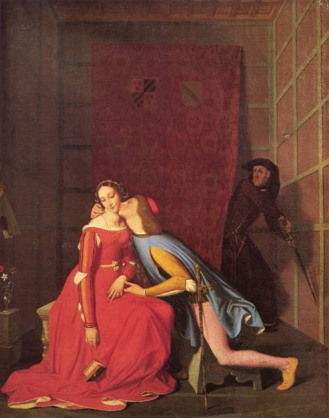 Ingres Paolo and Francesca 1819
